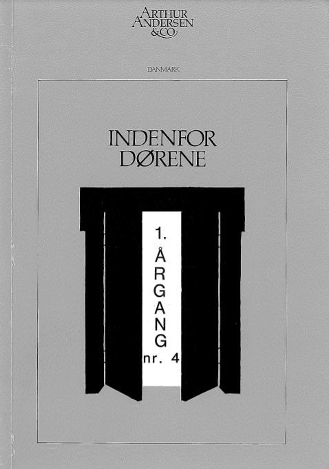 IDF 1. Årgang nr. 4 1984