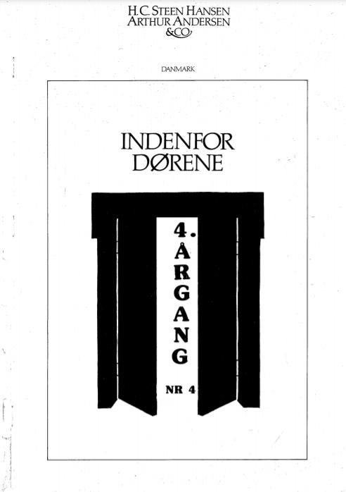 IDF 4. Årgang nr. 4 1987